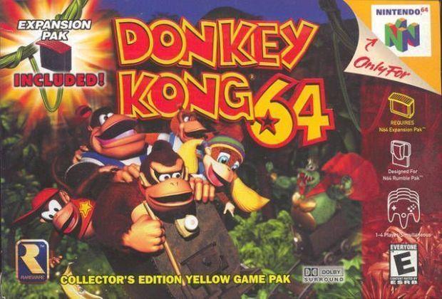 Donkey Kong 64 (USA) Game Download Nintendo 64