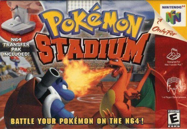 Pokemon Stadium (V1.1) (Europe) Game Download Nintendo 64