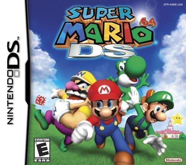 Super Mario 64 DS (USA) Game Download Nintendo DS