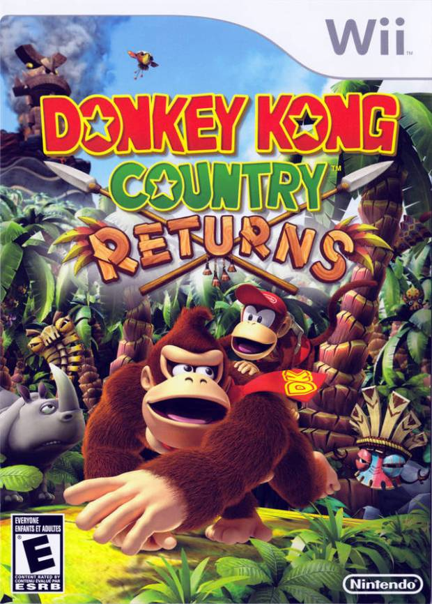 Donkey Kong Country Returns (USA) Game Download Nintendo Wii