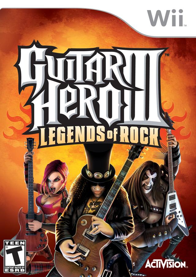 Guitar Hero - Legends Of Rock (USA) Game Cover