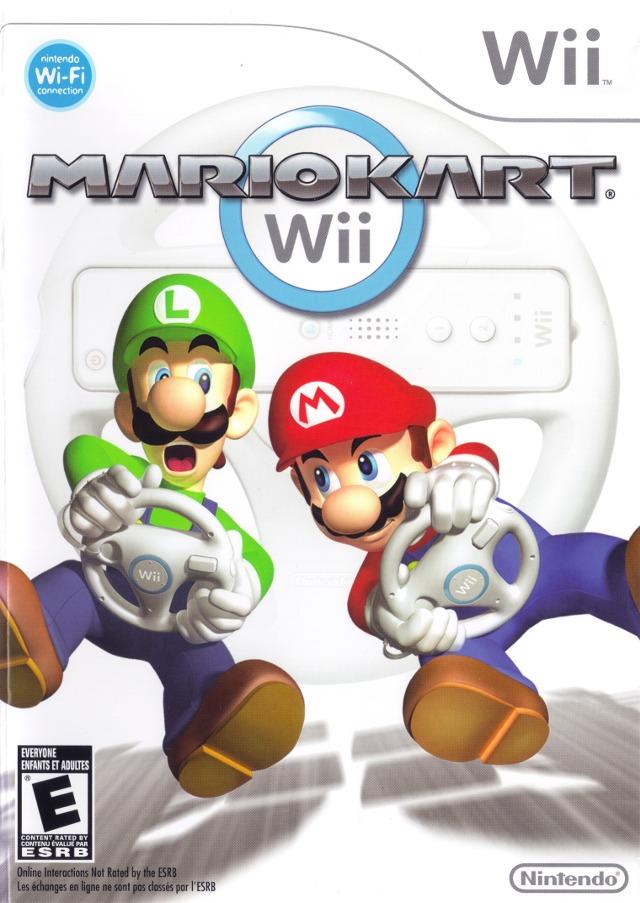 Mario Kart Wii (USA) Game Cover