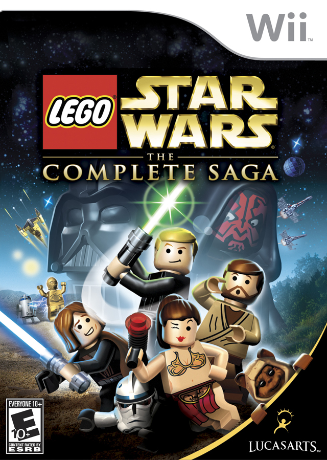 LEGO Star Wars The Complete Saga (USA) Game Cover