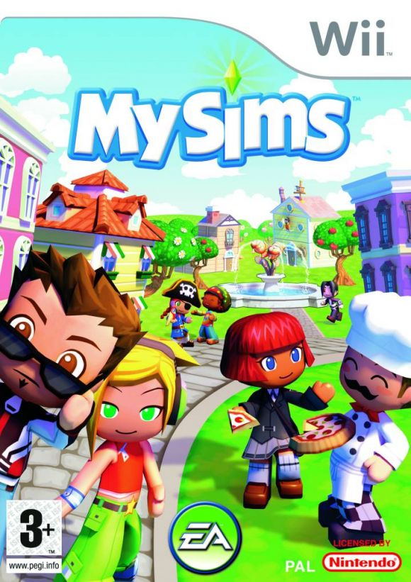 MySims (USA) Game Cover