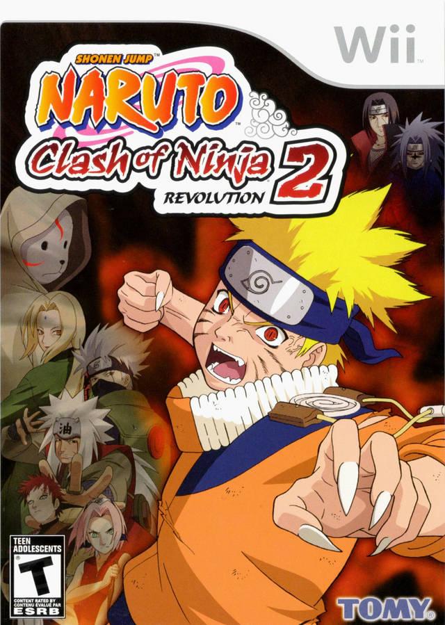 Naruto - Clash Of Ninja Revolution 2 (USA) Game Cover