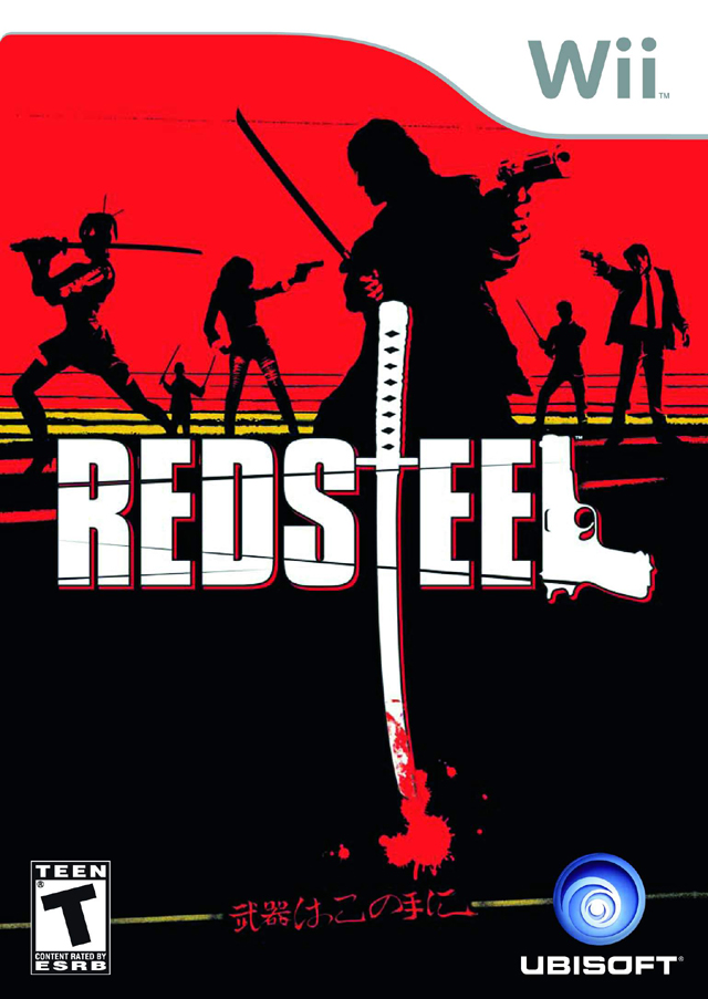 Red Steel (USA) Game Cover