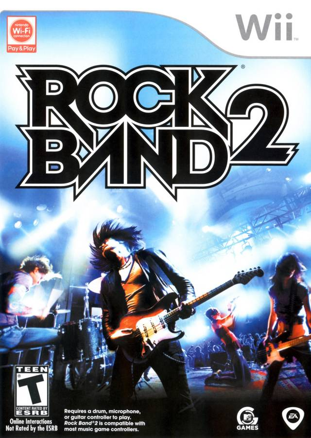 Rock Band 2 (USA) Game Cover