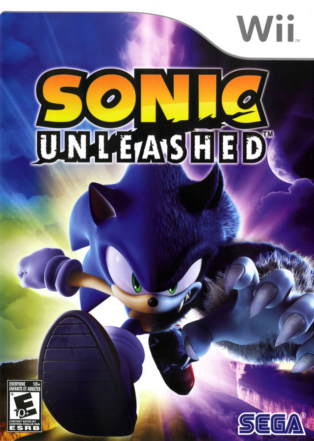 Sonic Unleashed (USA) Game Cover