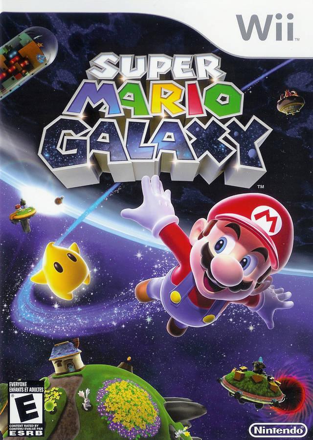 Super Mario Galaxy (USA) Game Cover