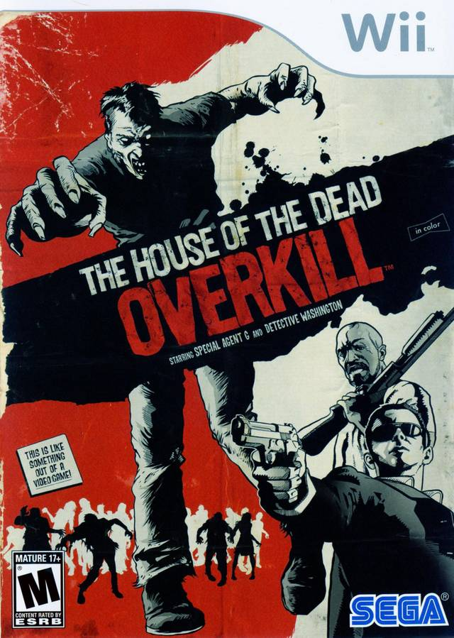 The House Of The Dead- Overkill (USA) Game Cover