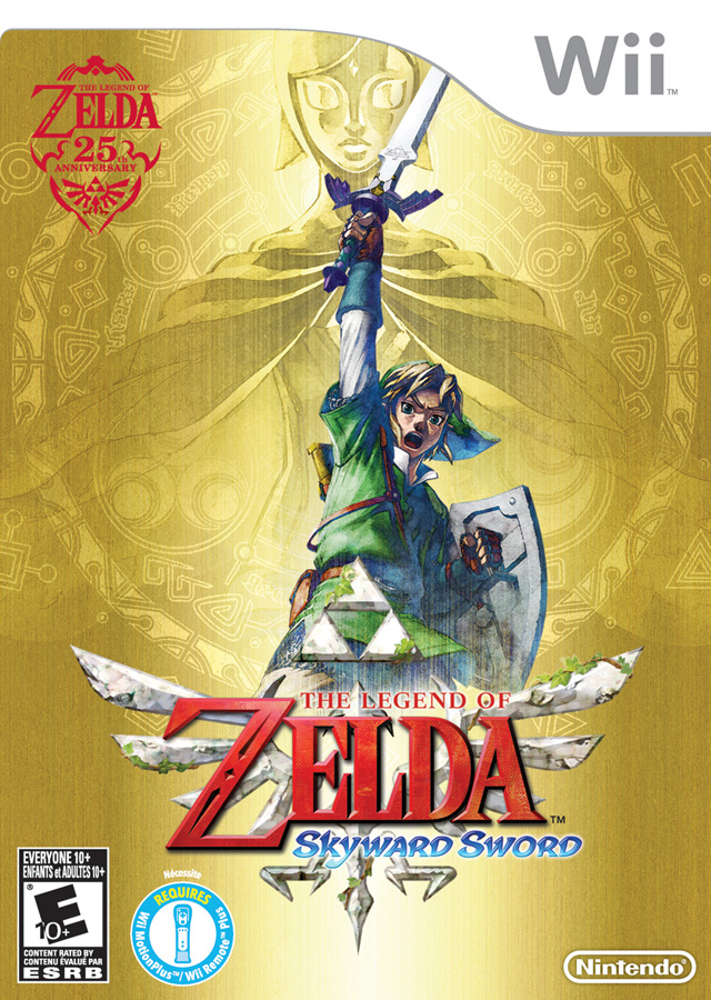 The Legend Of Zelda - Skyward Sword (USA) Game Cover