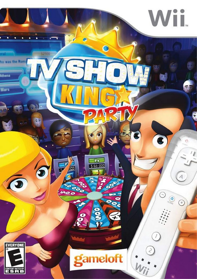 TV Show King Party (USA) Game Cover