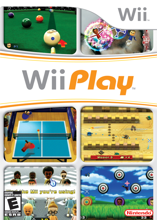 Wii Play (USA) Game Cover