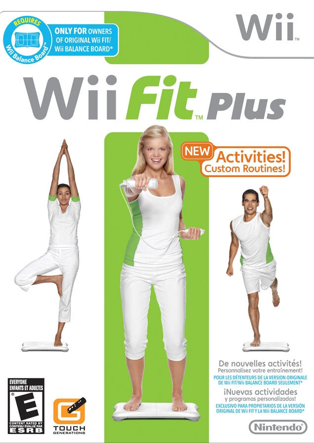 Wii Fit Plus (USA) Game Cover