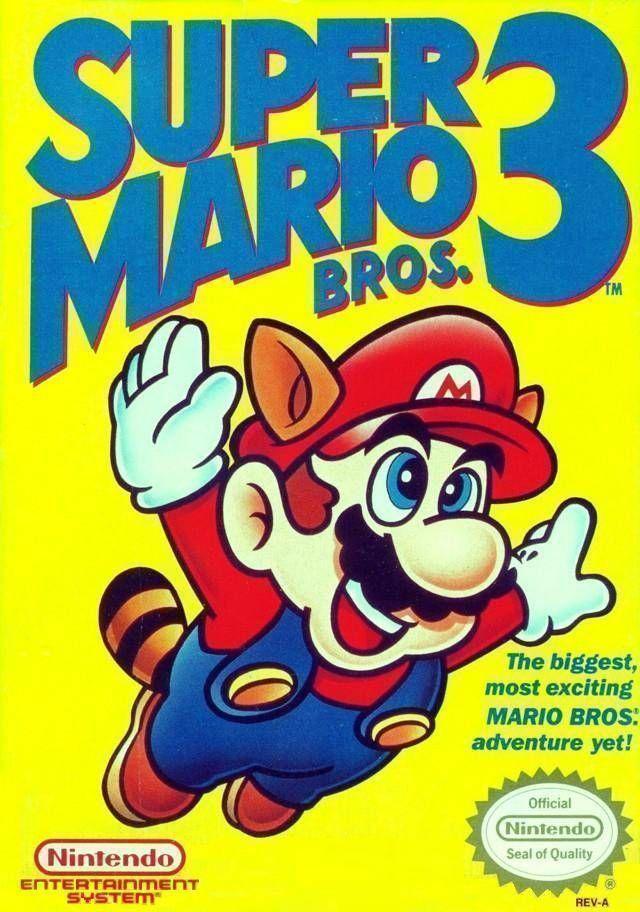 Super Mario Bros 3 (USA) Game Cover