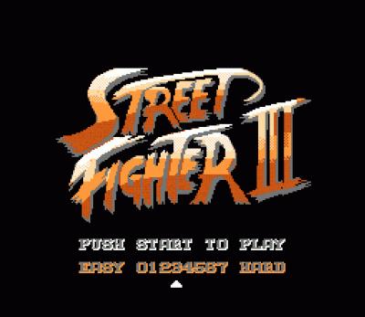 Street Fighter 3 (USA) Game Download Nintendo