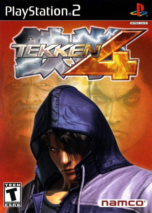 Tekken 4 (USA) Game Cover