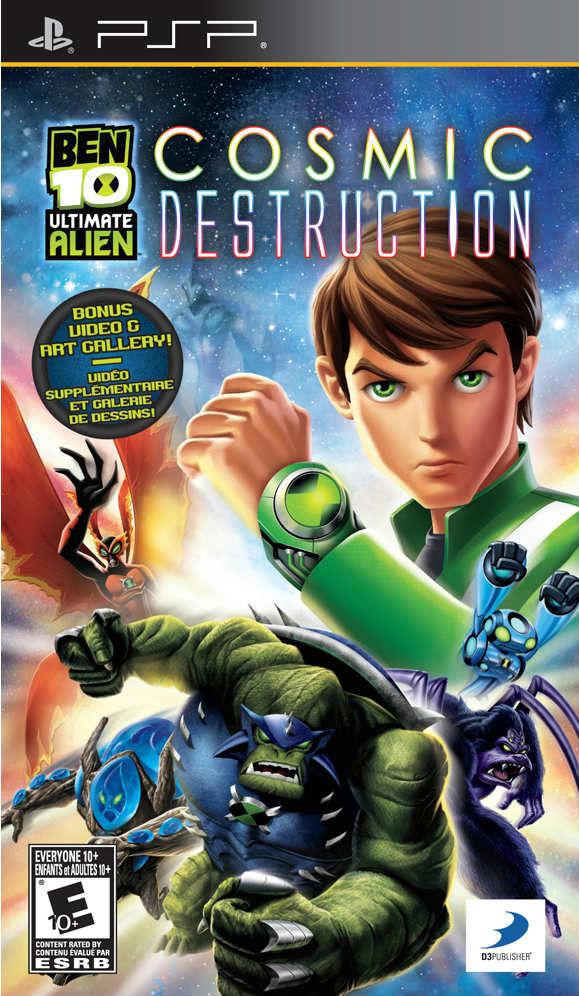 Ben 10 – Ultimate Alien – Cosmic Destruction (USA) Game Download Playstation Portable