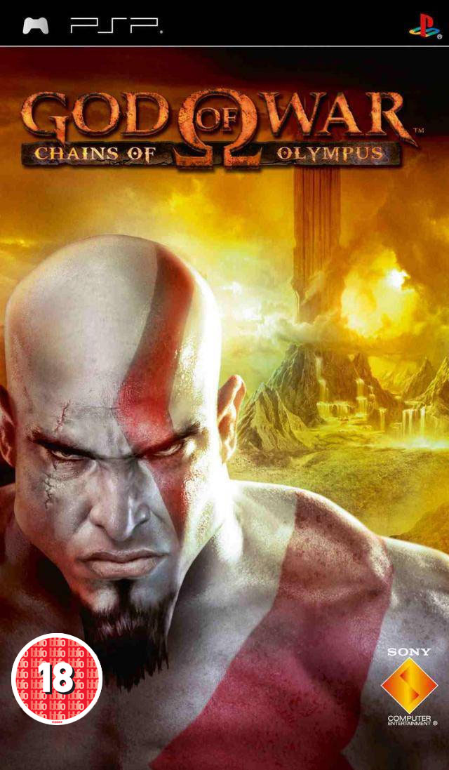 God Of War - Chains Of Olympus (Europe) Game Cover