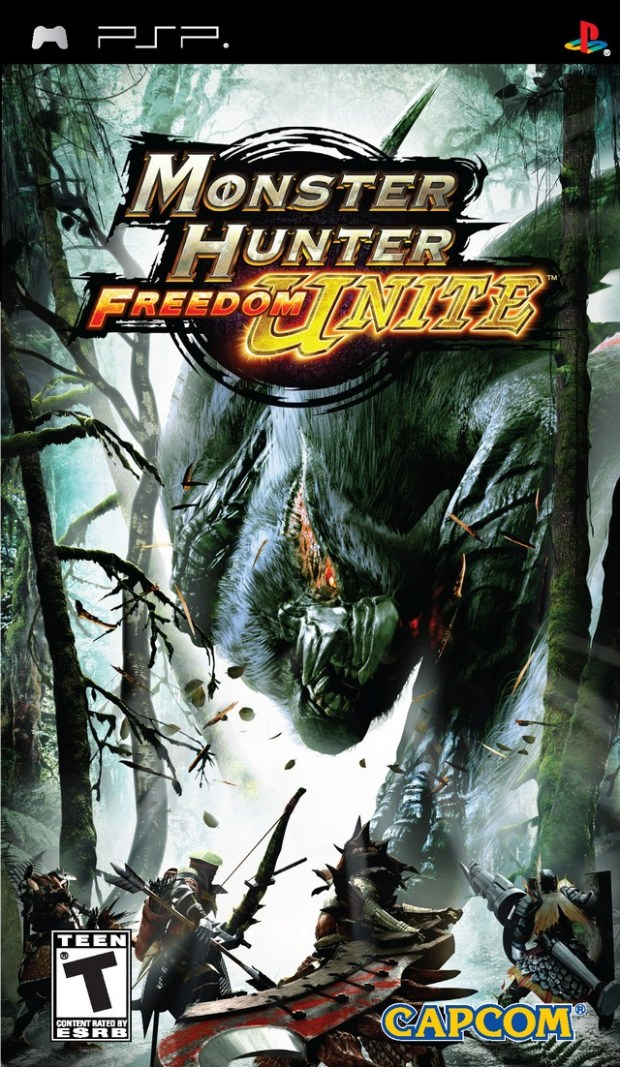 Monster Hunter Freedom Unite (USA) Game Download Playstation Portable