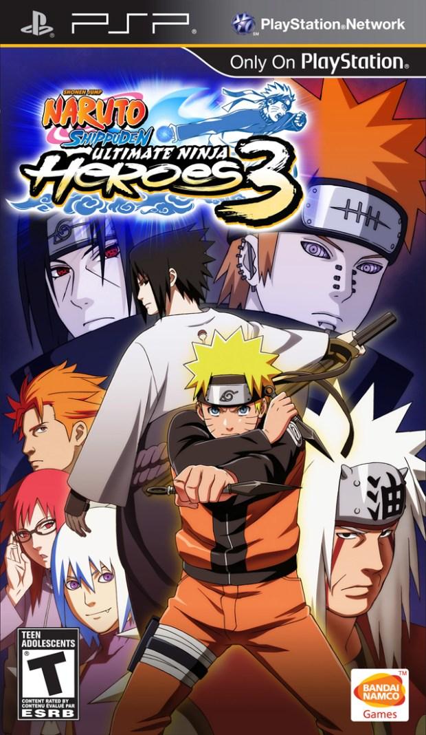 Naruto Shippuden – Ultimate Ninja Heroes 3 (USA) Game Download Playstation Portable