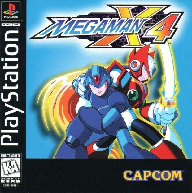 Megaman X4 [SLUS-00561] (USA) Game Download Playstation