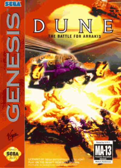 Dune – The Battle For Arrakis (Europe) Game Download Sega Genesis