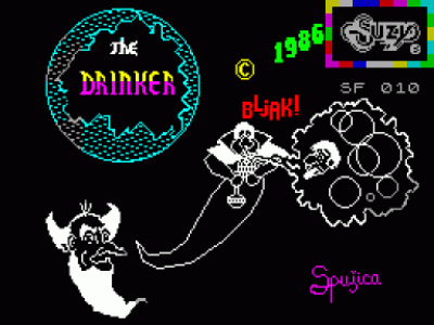 Drinker, The (1986)(Suzy Soft)(sr) (USA) Game Download ZX Spectrum