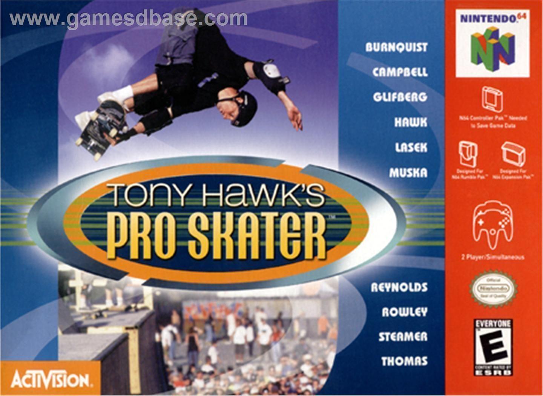 Tony Hawks Pro Skater Nintendo 64N64 ROM Download