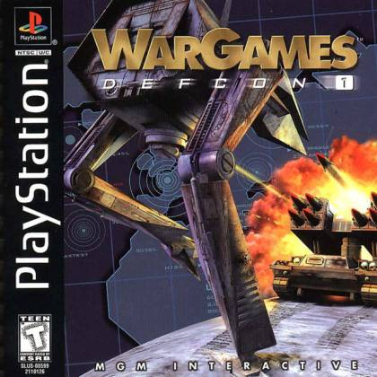 War Games   Defcon 1  SLUS 00599    Playstation PSX PS1 ISOs  ROM     War Games   Defcon 1  SLUS 00599