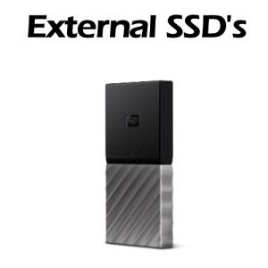 External SSD's