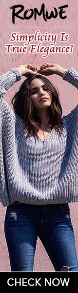 Romwe Fashion Pullover
