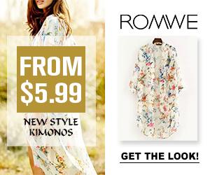 Romwe Kimonos