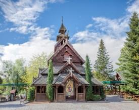 Stabkirche norwegisch europapark romy Häfner