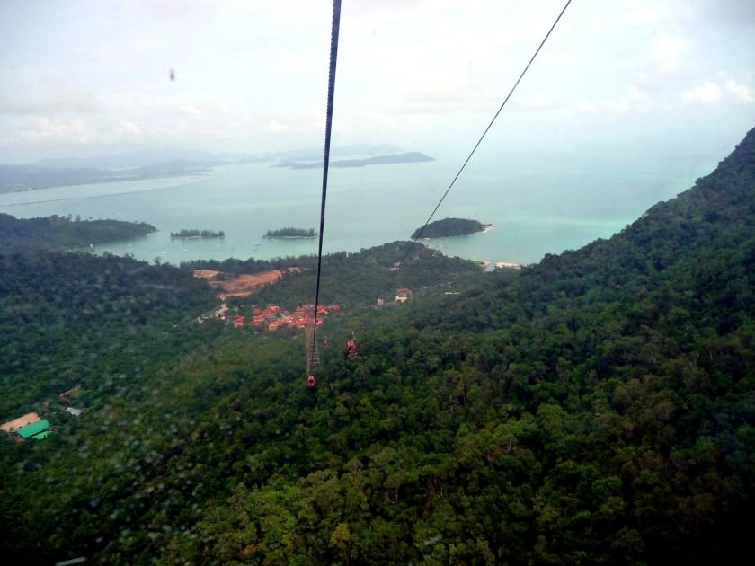 Kabelbaan in Langkawi