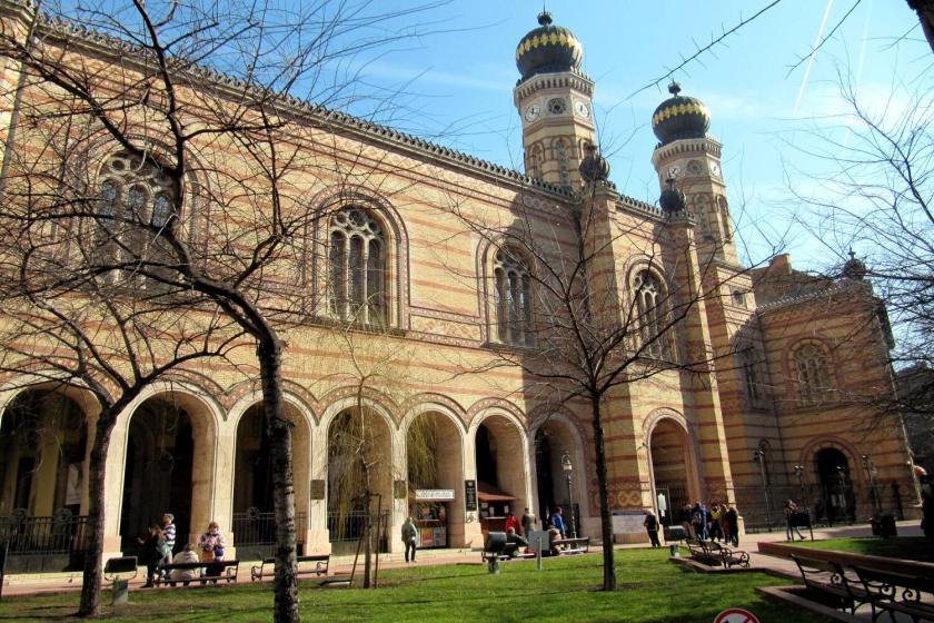De Grote Synagoge in Boedapest
