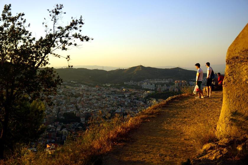 uitzicht vanaf Turó de la Rovira