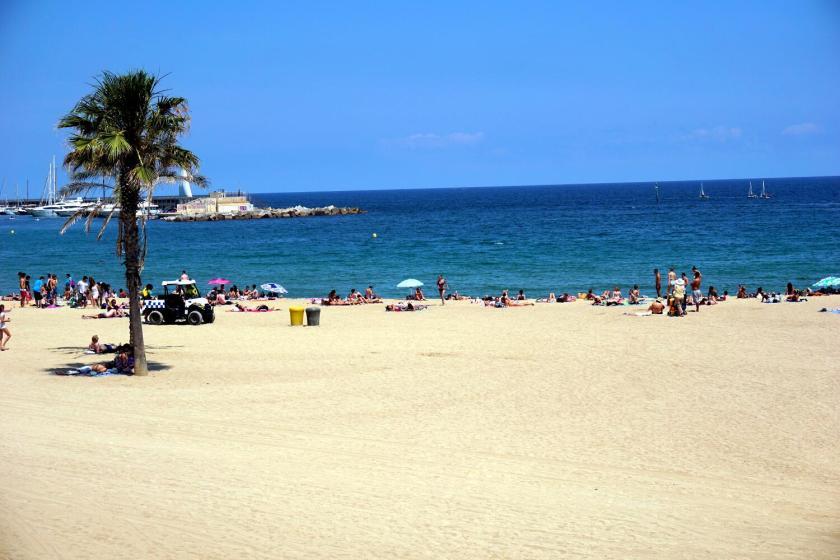 Strand van Barcelona