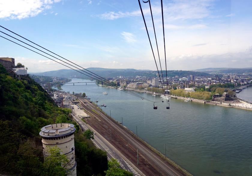 Kabelbaan in Koblenz