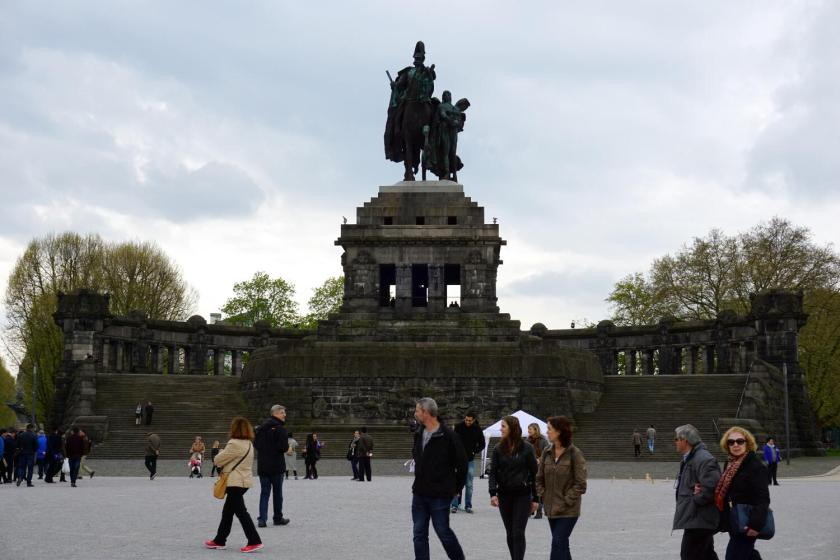 Standbeeld Wilhelm I in Koblenz