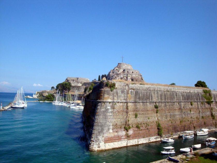 Oude Fort Corfu Stad
