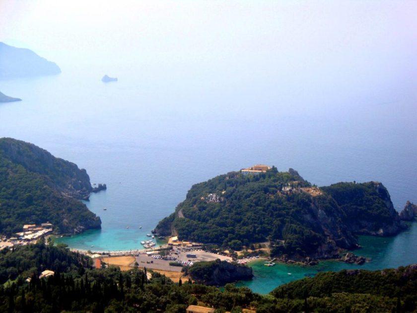 Blauwe Oog Paleokastritsa Corfu