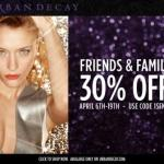 Urban Decay Friends & Family Discount