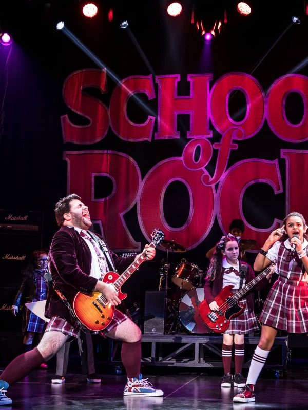 'School of Rock' now playing for a limited engagement at the Hollywood Pantages, is a fun feel good musical that showcases bright young talent.