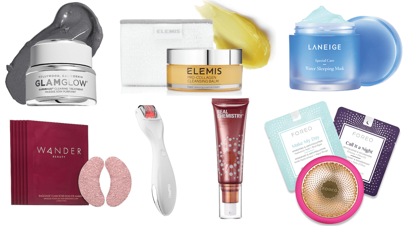 I've curated a fabulous assortment of skin transforming products and anti-aging devices to give yourself a professional facial at home