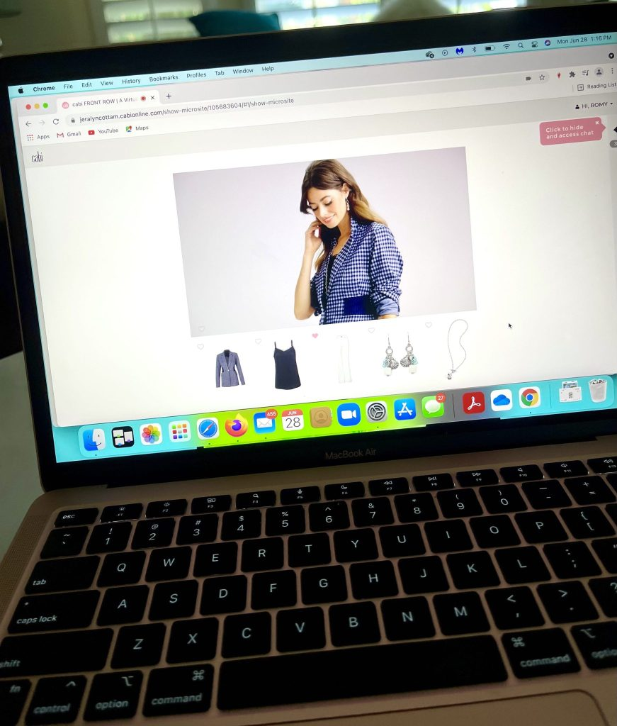 If you are burnt out by virtual events, then you are going to love attending Cabi Front Row, an innovative Virtual Fashion Shopping Experience