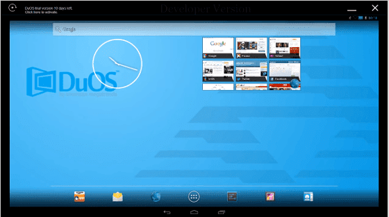 برنامج   برنامج انك تستخدم اصدار اندرويد 5 لولى بوبAmiduos