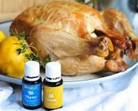 grill csirke citrom és tömjén illó olajjal