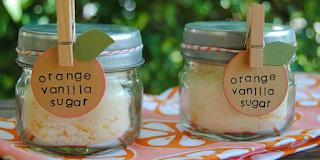 Narancsos-vaniliás cukor