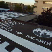 Spray Art for Restaurant BAUT / Bacardi i.s.m. Styletrip